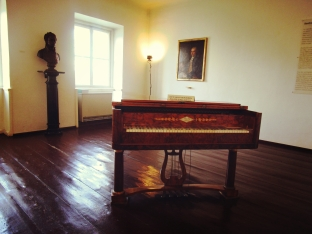 I went total fangirl and visited Beethoven's apartment in Vienna. Nice digs for a tortured artist.