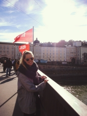 On our last day in Salzburg, the sun reemerged and we finally perked up again after our much needed rest.