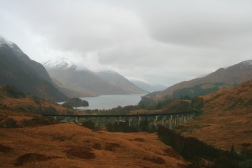 Here is the one and only Google image you'll see on our blog (Darren Little, via flikr.com). Just had to show you the most beautiful part of the trip--passing through the Glenfinnan Viaduct. Harry Potter fans might recognize it--the Hogwarts Express scenes were filmed here!