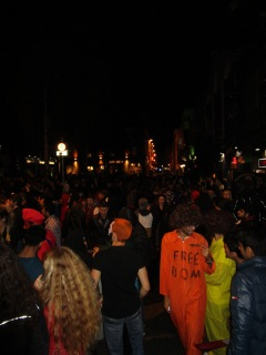 Had such a great time people watching in Temple Bar on Halloween.