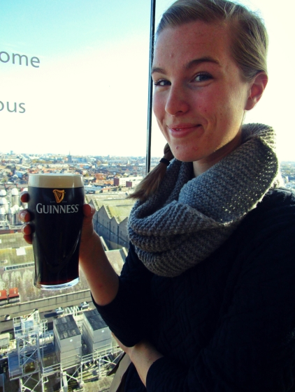 Gravity Bar- free pint of Guinness!