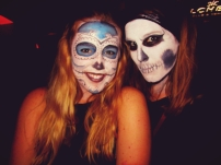 Without luck finding a costume we resorted to face paint!
