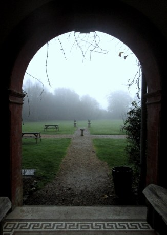 The house and grounds were particularly suited to foggy mornings